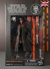 "NEW DARTH MAUL - Star Wars Black Series The Force Awakens - l6"" Figure Replica"