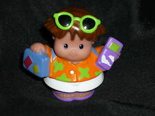 Fisher Price Little People Vacation Plane Hispanic BOY