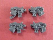 Space Wolves THUNDERWOLF Set of 4 X BOLT PISTOLS - Bits 40k
