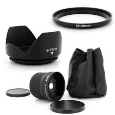 52mm Super Fish Eye 0.18x,Petal Lens Hood for Pentax K-x 18-55mm K100D,K110D,USA