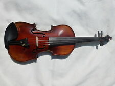 NEW HAND MADE VIOLIN, STRADIVARIUS COPY, ANTIQUE STYLE, BOW AND CASE FROM UK!