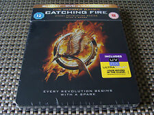 Blu Steel 4 U: The Hunger Games : Catching Fire : With DVD 2 Discs Sealed