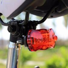 Bicycle Bike Cycling 5 Led Tail Rear Safety Flash Light Lamp Red With Mount F1L9