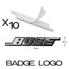 10x NEW BOSE Speaker Sticker Badge Emblem for Car Audio Mercedes, BMW, VW, AUDI