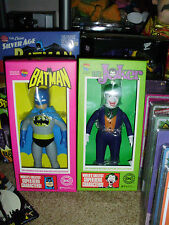 BATMAN & JOKER DC COMICS RETRO SOFUBI COLLECTION FIGURES MEDI COM TOY MINT MEGO