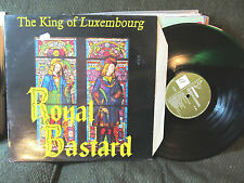 THE KING OF LUXEMBOURG ROYAL BASTARD LP ACME 8 UK 1987 SIMON fisher TURNER indie