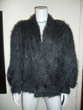 LYNN ALISON KNITWEAR VINTAGE MOHAIR WOOL WINGED CARDIGAN SWEATER SIZE LARGE