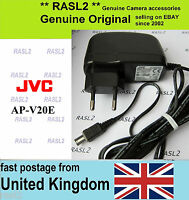 Genuine Original JVC AC POWER Adapter AP-V20 e AP-V17e AP-V14 AP-V15 V16e AP-V18