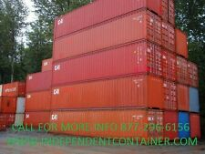 40' High Cube Cargo Container SALE / Shipping Container / Storage. Long Beach CA