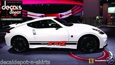 Rocker Panel Stripes for NISSAN 370Z Coupe 2012 2013 2014 2015 2016 Old or New