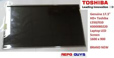 "Genuine 17.3"" HD+ Toshiba L550/010 K000080220 Laptop LED Screen 1600 x 900"