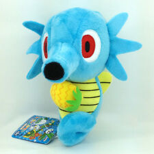 Horsea Dragon Pokemon Water Type Plush Toy Stuffed Animal Ink Seahorse Soft 6.5""