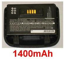 Batterie pour INTERMEC CS40 GC4460 1005AB01 318-045-001 **1400mAh **