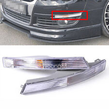 2x Front Bumper Turn Signal Clear Lens Blinker Lights Indicator For VW Passat B6