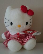 "Hello Kitty Plush 9 1/2"" From Sanrio *RARE* *ORIGINAL* *VINTAGE* *MADE IN JAPAN*"