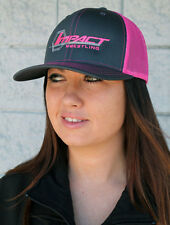 Official TNA Impact Wrestling - Impact Pink/Grey Trucker Hat