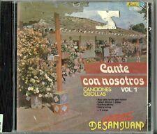 Cante Con Nosotros Volume 1 Latin Music CD