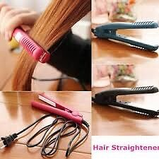 Professional mini travel hair straighter