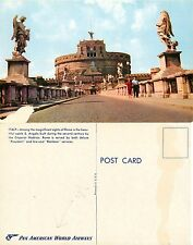 Roma - Castel S. Angelo PAN AMERICAN WORLD AIRWAYS (I-L 063)