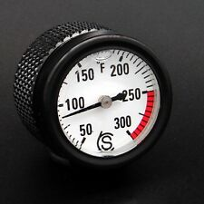 Ducati Scrambler 800 Oil Temp Gauge Fahrenheit Black Monster 796 696
