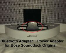 A2DP Bluetooth Music Receiver + Power Adapter for  Bose SoundDock I & Wave