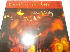 SOMETHING FOR KATE - ELECTRICITY - OZ 4 TRK CD SINGLE - DIGIPAK - VERY CLEAN