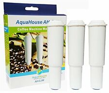 3x AquaHouse AH-CJW Compatible Water Filters for Jura Claris White Coffee Maker