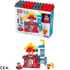 MEGA Bloks FISHER-PRICE First Builders Salvatori 40pcs SET DI COSTRUZIONE 1-5 anni