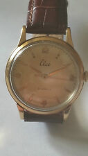 Gentlemans1957 Sold Rose Gold ELCO WATCH Swiss Made 21 Jewels Helvetia Movement