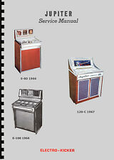 MANUALE JUKEBOX  JUPITER E80 - E100 - 120C, JUPITER 120SL and D96 (juke box)