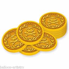 40 Jake et les terres jamais en Plastique Fête pirates pièces d'or favorise décorations