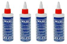 4 x Wahl Clipper Blade Lubricating Oil For Clippers Dog Grooming