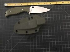 Spyderco Mule Team 21 With Sheath And Scales