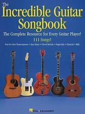 The Incredible Guitar Songbook (Sheet Music Collection) - BRAND NEW