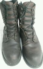 Redwing Brown Work Boots size 13 Leather Thinsulate +8 inch Composite Toe