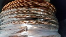GROUND WIRE STRANDED BARE COPPER 10 AWG 100' Reel  Jewelry Crafts Grounding USA