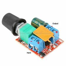 3V-35V 12V 24V DC Motor PWM Speed Control Controller Speed Switch LED FAN Dimmer
