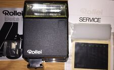 Rollei Beta 1 Manual Electronic Flash Original Packaging Untested New Old Stock