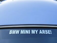 BMW MINI MY @RSE! Funny Sticker for Rover Austin Morris City Cooper S Clubman