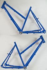 """Heli-Bikes Light Rohloff Cross Trekking 28"""" Alu Rahmen Damen 58cm Sid blau 2015"""