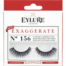 Eylure False Eyelashes - EXAGGERATE Style 156 + ADHESIVE + APPLICATOR **OFFER**