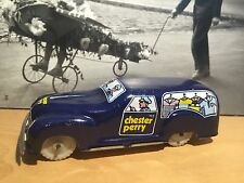 MARCHESINI 1950 TIN TOY CAR CHESTER PERRY ADVERTISING VERY RARE ORIGINAL ITALY