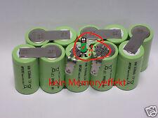 remplacement batterie pour GARDENA V12 A12 12V AP 12 3000 mAh NiMH sans Soudage
