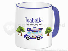 Personalised Gift Ice Cream Van Mug Cone Scoop Driver Vendor Novelty Present #1