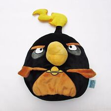 "Angry Birds in Space Bomb Plush Doll, Black & Orange Flame - LARGE! 18"" Pillow"