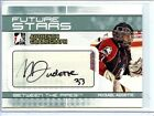 2009-10 ITG BETWEEN THE PIPES MICKAEL AUDETTE AUTOGRAPH
