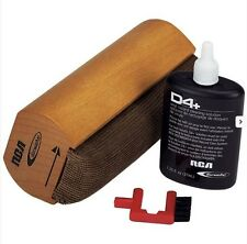RCA Discwasher D4+ Wet Vinyl Record Care System Brush Pad New Free US Shipping