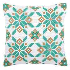 Ice Star  - Long Stitch Printed Canvas Cushion Kit-Cross Stitch-Tapestry Kit