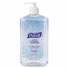 Purell Advanced Instant Hand Sanitizer 20 ounce pump GOJO 3020 with Vitamin E