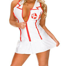 Women Costumes Cosplay Nurse Doctor Uniform Lingerie Fancy Dress Set Outfit Sexy